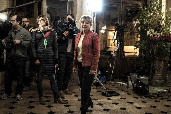 La nouvelle présidente de région Bourgogne Franche-Comté Marie-Guite Dufay