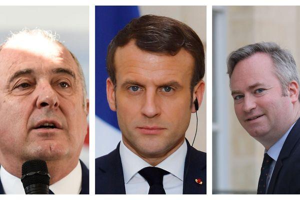 Le Président de la République a sifflé la fin de la bataille de ses ministres pour la campagne municipale à Biarritz ( Pays basque )