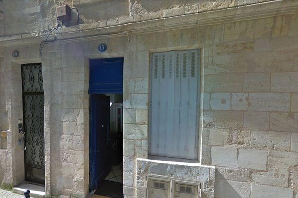 L'immeuble situé au 17 rue Mautrec, dans le quartier historique de Bordeaux.