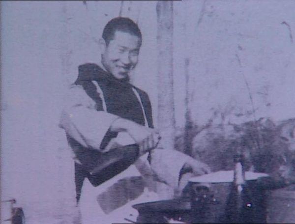 Un moine trappiste chinois de l'abbaye de Notre-Dame-de-Consolation, dans les années 1930.