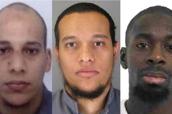 Chérif Kouachi, Saïd Kouachi et Amedy Coulibaly