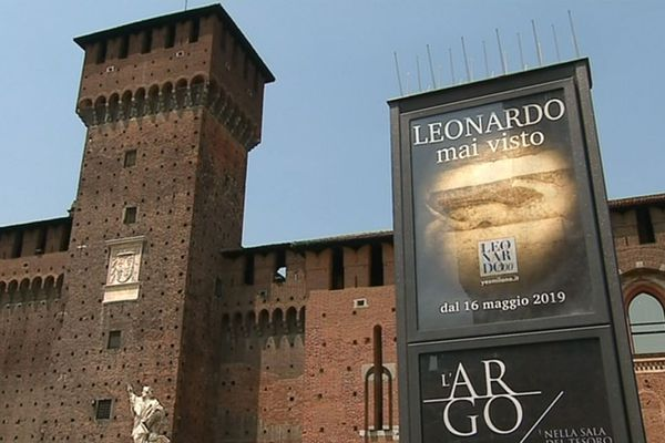 Le château Sforza à Milan