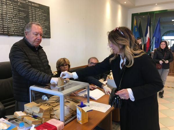 Le 15 mars dernier, Angèle Bastiani (45,24 %) virait en tête au premier tour, devant le maire sortant, Jean-Joseph Allegrini-Simonetti (41,84%) et Michel Frassati (12,92%)