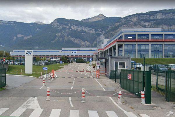 La société STMicroelectronics, à Crolles (Isère).