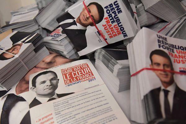 Primaires de la gauche : Benoît Hamon arrive en tête dans le Puy-de-Dôme et la Haute-Loire, Manuel Valls dans le Cantal et l'Allier