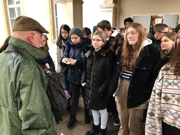 Commémoration des rafles de la Gestapo. Les lycéens participent jeudi 5 mars 2020 à l'hommage rendu aux Nancéiens arrêtés et déportés les 2 et 5 mars 1943.