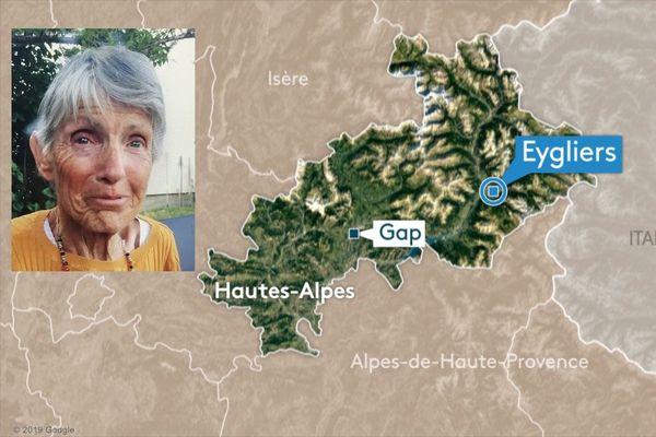 Disparition à EYGLIERS (05) de Marguerite COMBES épouse ALBERT, 82 ans, le 05 août 2020. En cas de découverte, bien vouloir aviser la gendarmerie de GUILLESTRE (04.82.45.00.08)