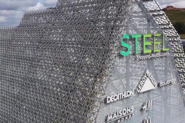 Saint-Etienne : le complexe commercial Steel bientôt inauguré