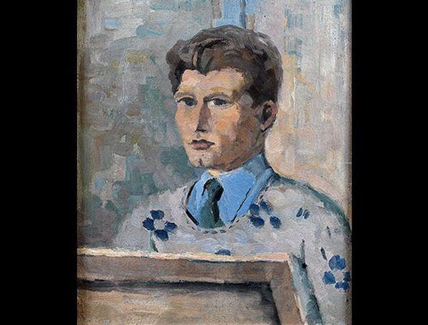 Autoportrait (huile sur isorel, 1926)