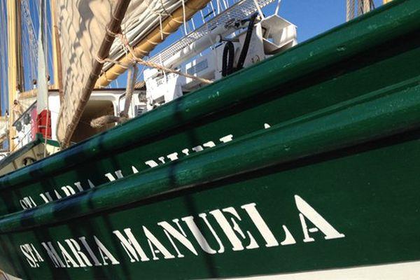 La Santa Maria Manuela est en acier militaire, elle allait jusqu'à Terre Neuve pêcher la morue