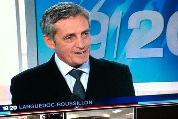 Philippe Saurel, candidat aux municipales à Montpellier, invité du 19/20 de France 3 Languedoc-Roussillon - 25 mars 2014.