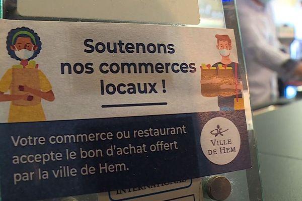 Bons d'achat, prêts à taux zéro, ... des initiatives du Nord et Pas-de-Calais pour relancer l'économie locale.