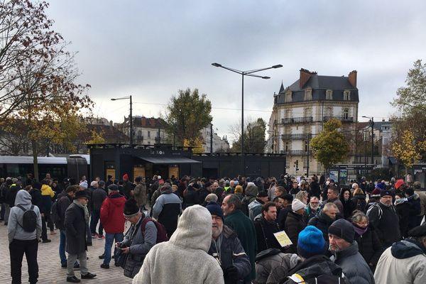 Gilets Jaunes à Dijon le 16/11/2019