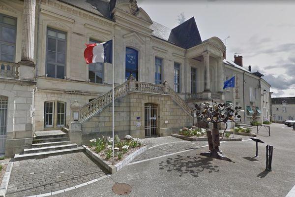 La mairie de Sainte-Maure-de-Touraine, en Indre-et-Loire.