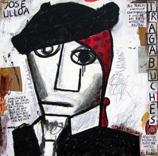 Tragabuches vu par l'artiste contemporain Eleazar