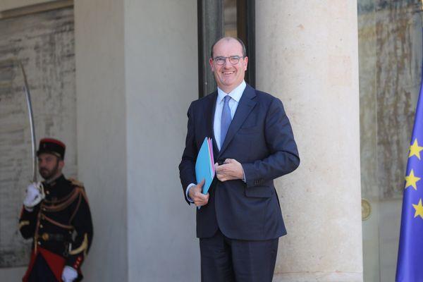 Le Premier ministre Jean Casteix mercredi 8 juillet à l'Elysée