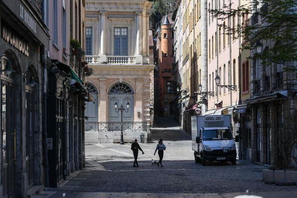"""""""Des immeubles entiers sont dépeuplés, et les locations touristiques sont privées de leurs clients"""", constate l'association Renaissance du Vieux-Lyon."""
