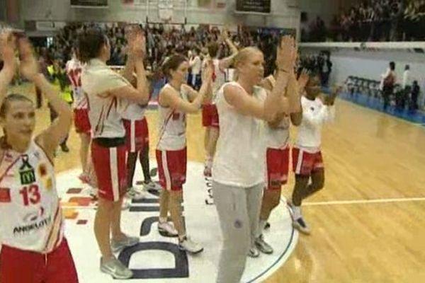 Les basketteuses de Perpignan, un club rétrogradé puis rehabilité.
