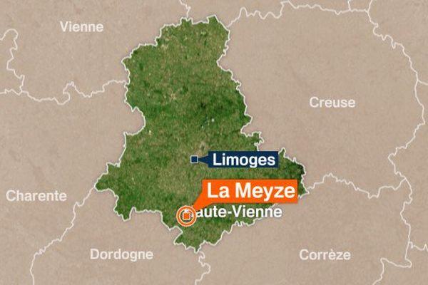 Les gendarmes ont retrouvé le corps de la femme disparue à Nexon sur la commune de La Meyze