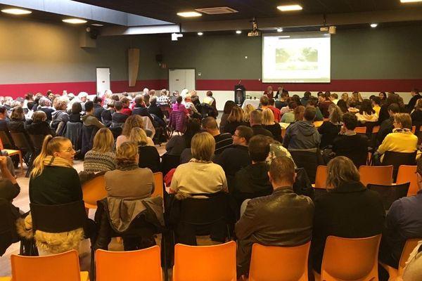 L'assemblée générale, ce 15 septembre, avec les salariés de Remade.