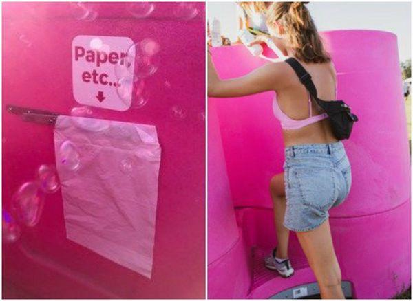 Un petit sac est prévu pour les déchets.