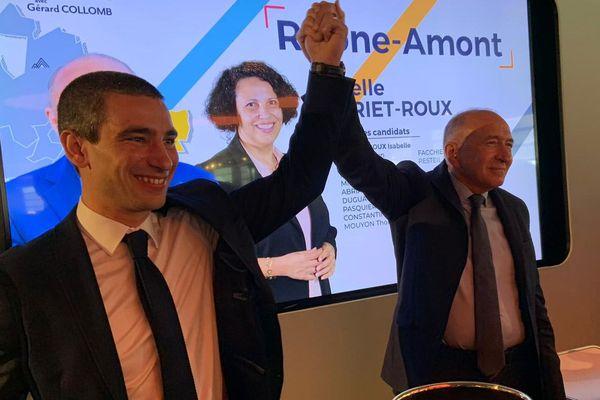 Municipales de Lyon 2020 : Conférence de presse Gérard Collomb et Yann Cucherat - 20 février 2020