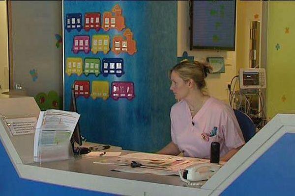 Alexandra Barbeau, infirmière puéricultrice au CHU de Poitiers.