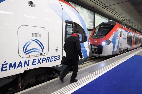 Le Léman-Express contraint de rester à quai - Photo d'illustration
