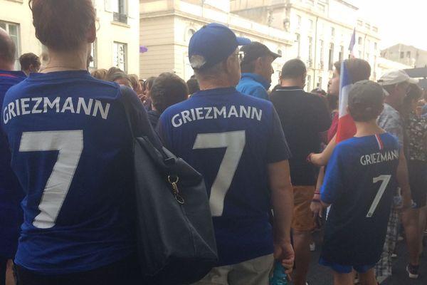 Les fans d'Antoine Griezmann l'attendent de pied ferme