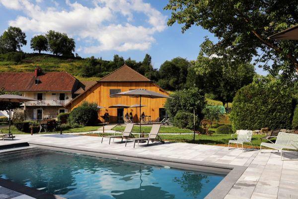La maison d'hôtes la Scierie à Salins-les-Bains, dans le Jura