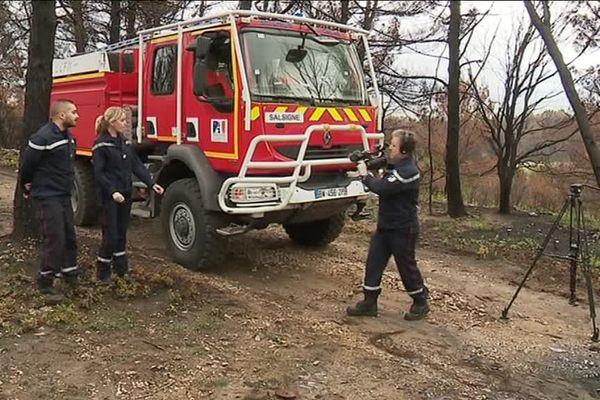 Au début de semaine, les pompiers de l'Aude ont tourné un film à visée pédagogique dans le but d'informer et de prévenir sur les incidents auxquels ils sont confrontés - 6 novembre 2019
