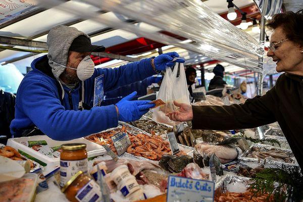 Le poisson n'est plus distribué aussi bien depuis le début de la crise du coronavirus