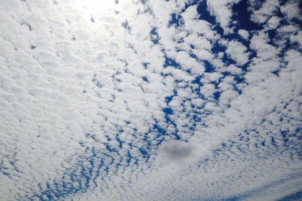 Un beau ciel ligérien signé Alison.