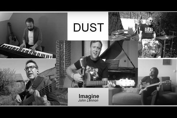 Le groupe Dust a publié son clip sur les réseaux sociaux le mercredi 15 avril 2020.