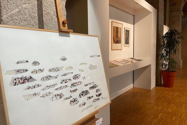 Cent-cinquante œuvres sont proposées à la vente solidaire pour le Secours Populaire à un prix unique 200 euros chaque pièce.