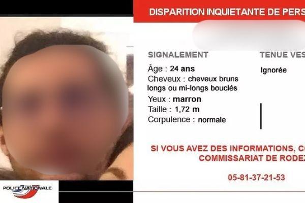 Selon les informations de France 3 Occitanie, en date du 18 mars 2021, le jeune homme a été retrouvé en vie.
