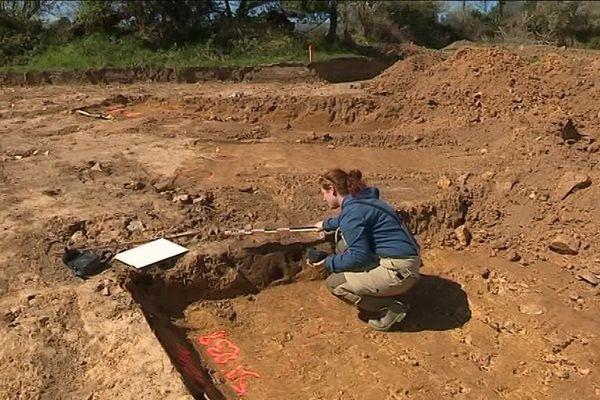 Sur la commune de Pieux, des archéologues ont récemment mis eu jour des vestiges d'une ferme celte, une découverte exceptionnelle en Normandie.
