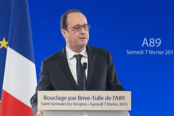 Le dernier déplacement de François Hollande en Limousin remonte au 7 février dernier, pour l'inauguration du tronçon autoroutier entre l'A89 et l'A20 en Corrèze.