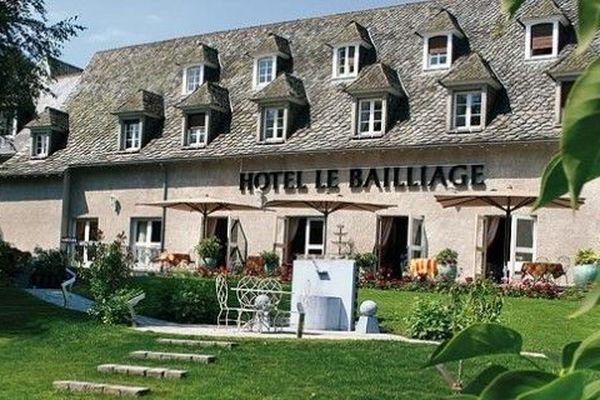 L'hôtel restaurant le Bailliage à Salers dans le Cantal