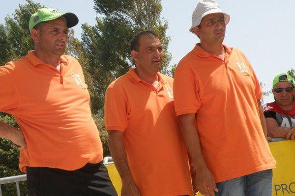 Les trois frères Molinas ne jouent ensemble que pour le Mondial à pétanque.
