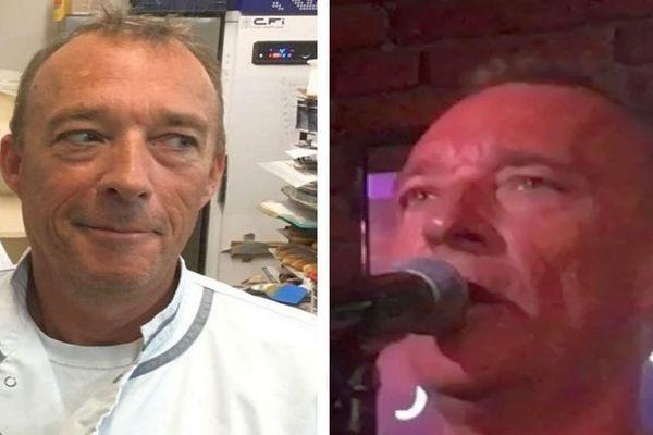 Ludovic Ruben, chef pâtissier le jour, chanteur sosie vocal de Johnny la nuit - 2019