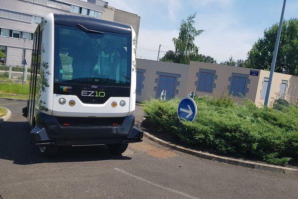 Clermont-Ferrand a décidé de retirer son dossier pour expérimenter les navettes autonomes dans l'espace public.