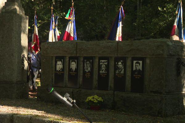 Chaque année, plusieurs dizaines de personnes viennent rendre hommage aux résistants.