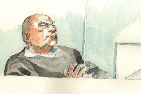 Philippe Gillet, dans le box des accusés.