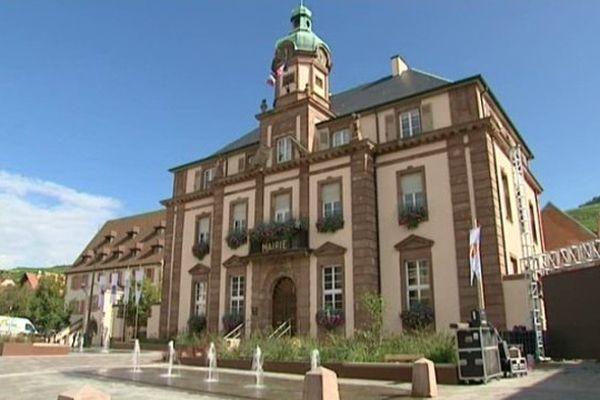 La mairie de Soulzmatt