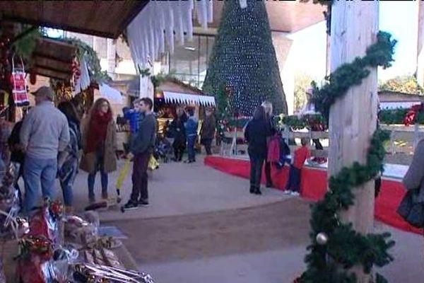A Porticcio, le marché de noël accueille jusqu'à 70 exposants.