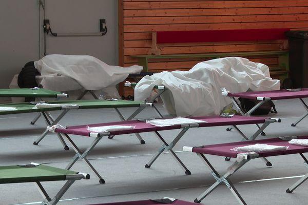14 sans-abri ont passé la nuit au gymnase Branly.