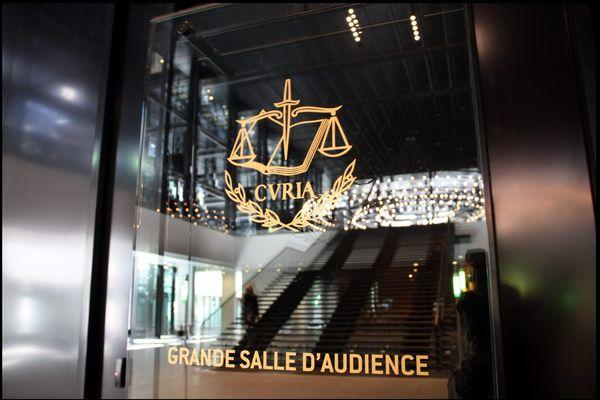 Cour de Justice de l'Union Européenne du Luxembourg Photo : P. HECKLER maxppp
