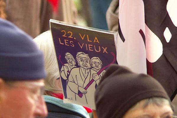 Peu de jeunes parmi les manifestants contre la réforme des retraites