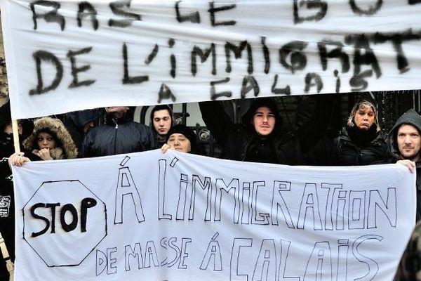 Ce jeudi, à Calais.